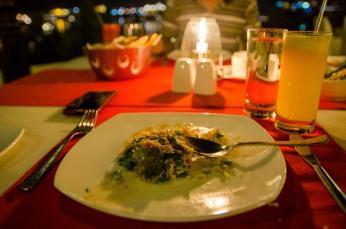 Dining at Shiv Niwas Palace