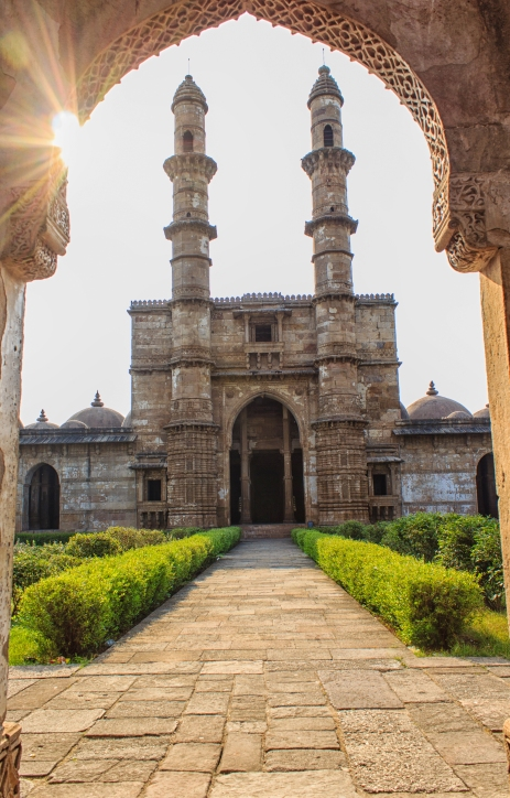 Champaner_Entrance to Masjid