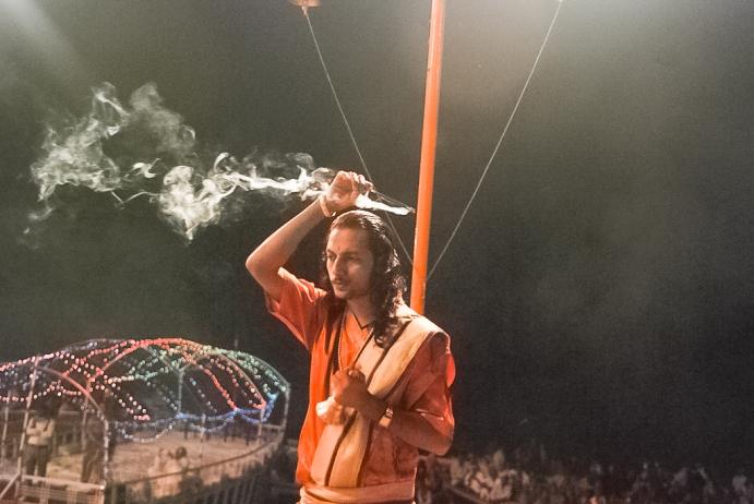 Ganga Aarti@Varanasi