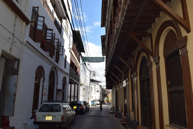 Old town Mombasa