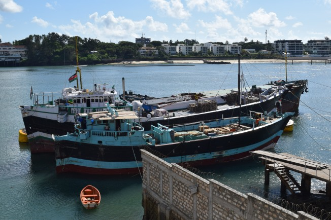 S.S. Bombay - A testimoney to the slave era, sails from Zanzibar to Mombasa today