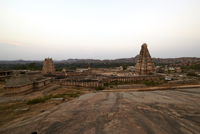 Virupaksha Temple from Matunga Hill