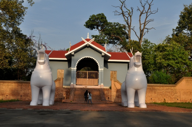 Kangla fort still stands as a reminiscent of the mighty empire that remained undefeatable for centuries.
