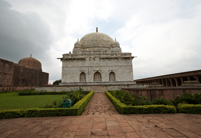 Hoshenshah's tomb - one of the first monument built in white sandstone.