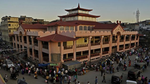 The all women's Ima Market of Imphal