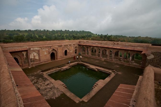 Ruins of a Baz Bahadur Palace, Mandu