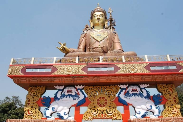 Lord Padmasambhava in Namchi