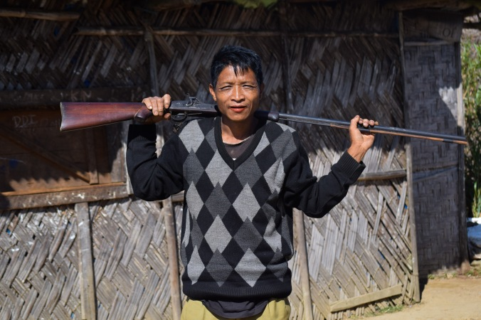 A Konyak man_Mon_Nagaland