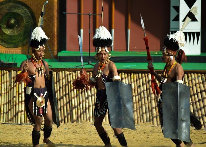 Konyaks_tribal dance_Hornbill Festival