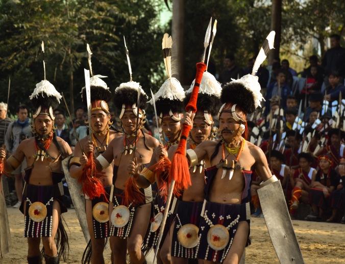 Konyaks_tribal dance@Hornbill festival
