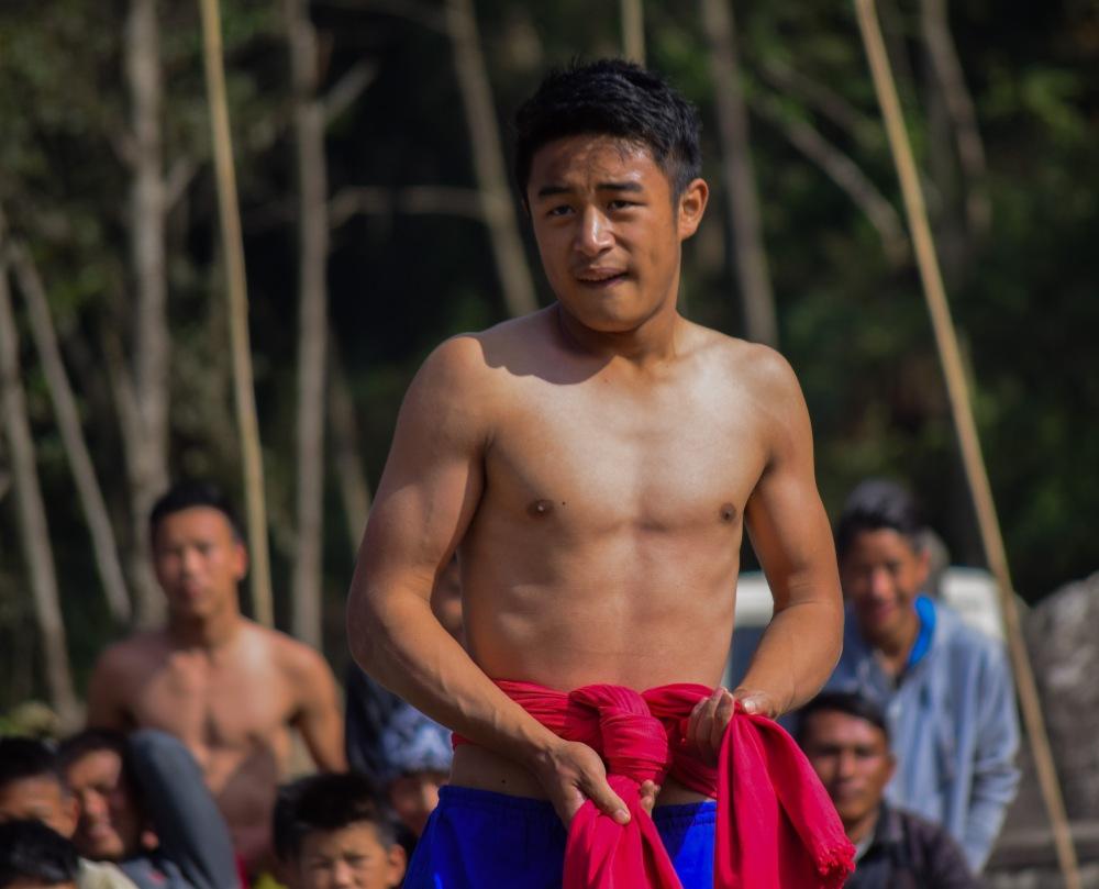 Naga wrestler_Khonoma