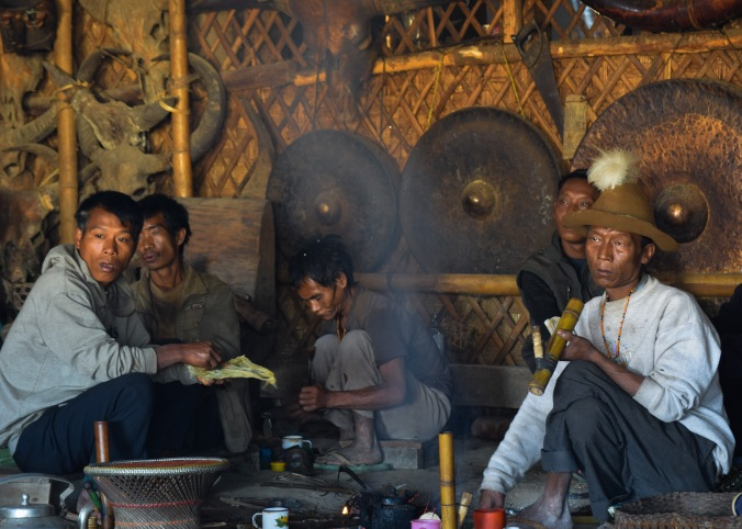 Opium smoking_Longwa_Nagaland