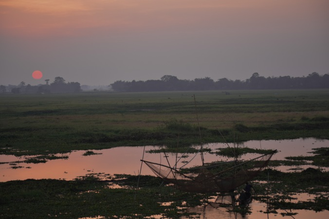 Sunset @Majuli
