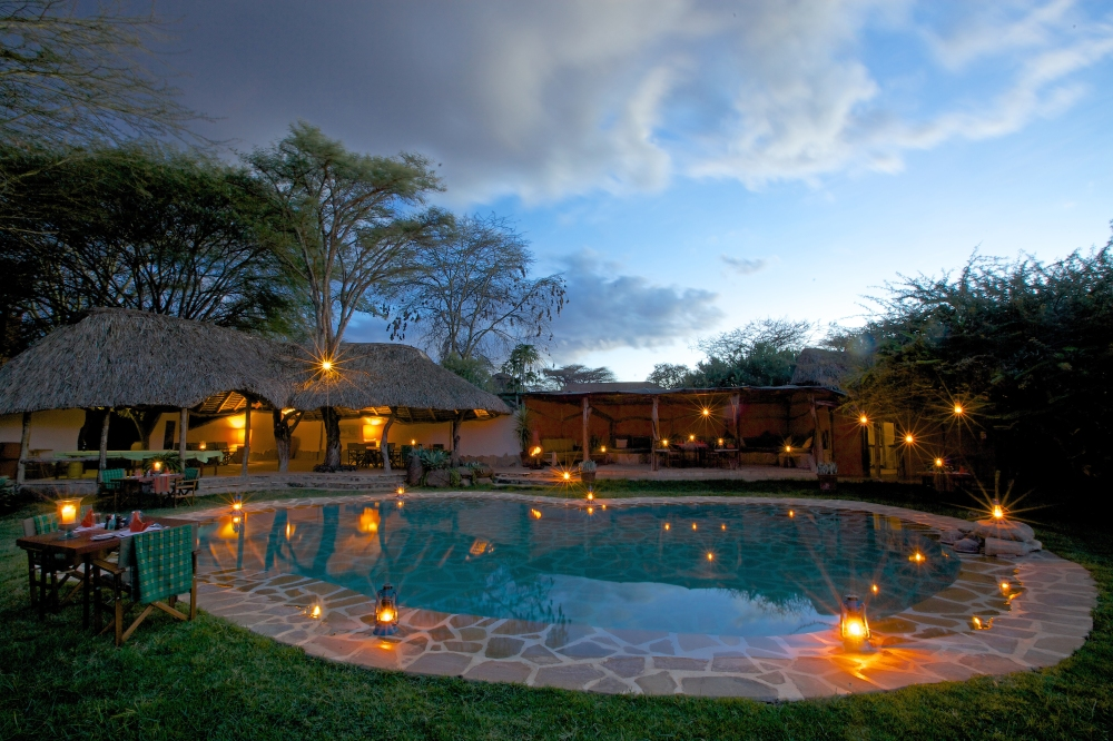 Lewa Safari Camp - accommodation - swimming pool-14
