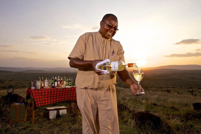 Lewa Safari Camp - activities - sundowner-14