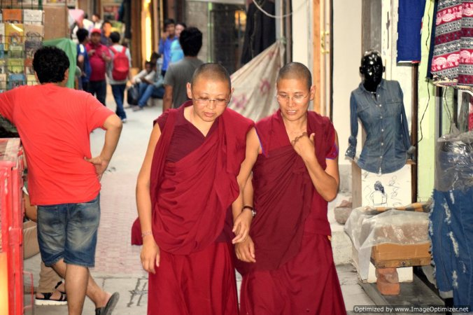 Buddhist monks_New Delhi