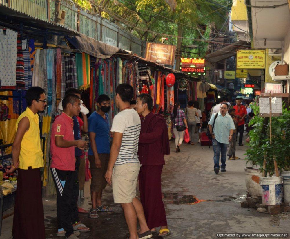 Monks_little tibet_New Delhi