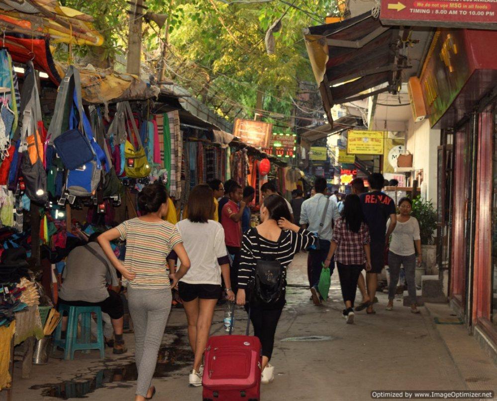 Shopping in little tibet_New Delhi