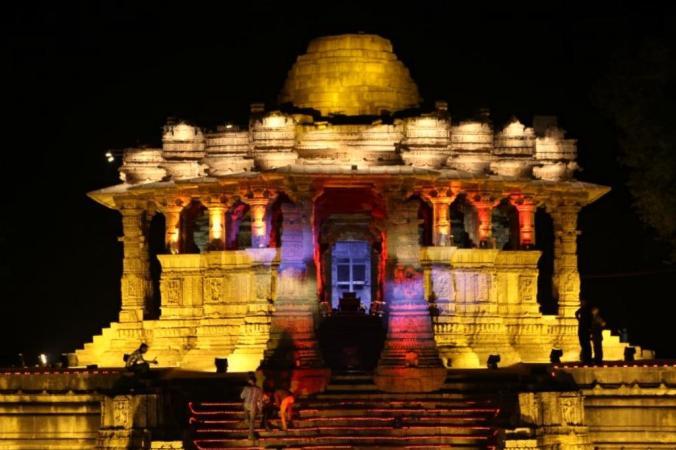 Sun Temple@night_Modhera