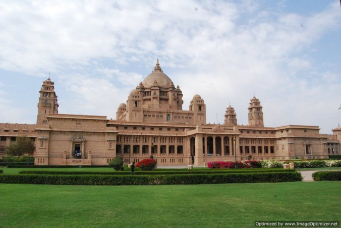 Umaid Bhavan_Jodhpur_at day