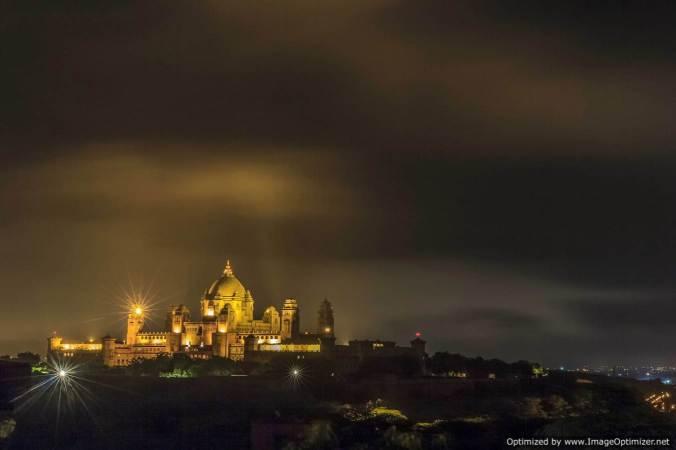 Umaid Bhawan_night@Jodhpur II