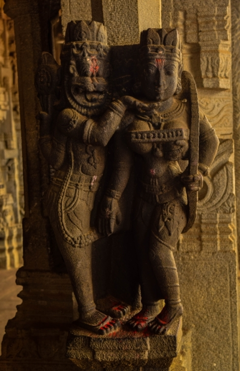 narsimha-and-laxmi-in-ahobilam-temple-2