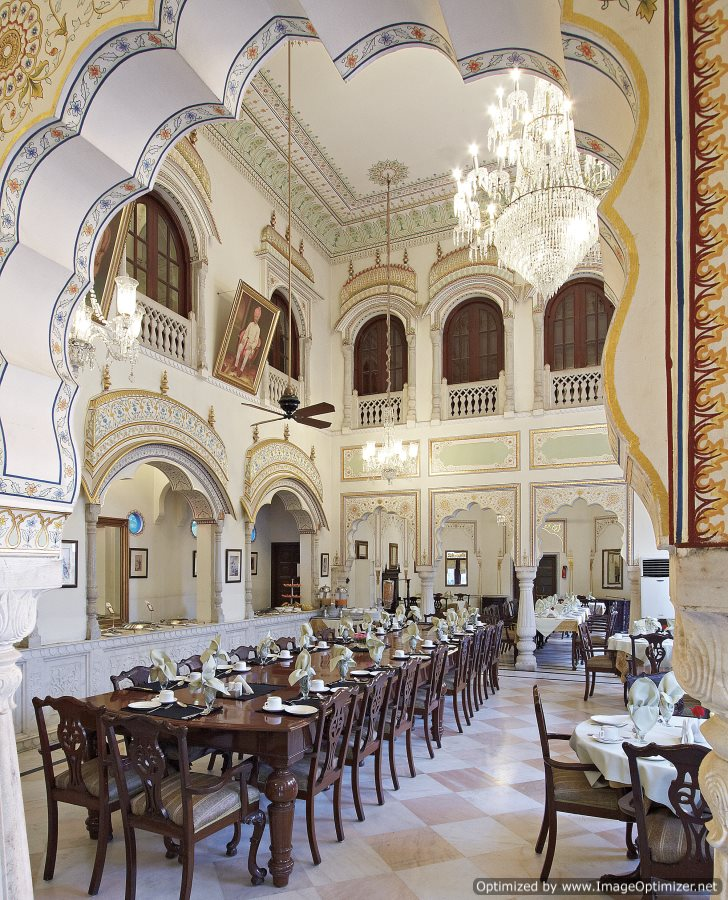 Alsisar haveli_Dinning Hall