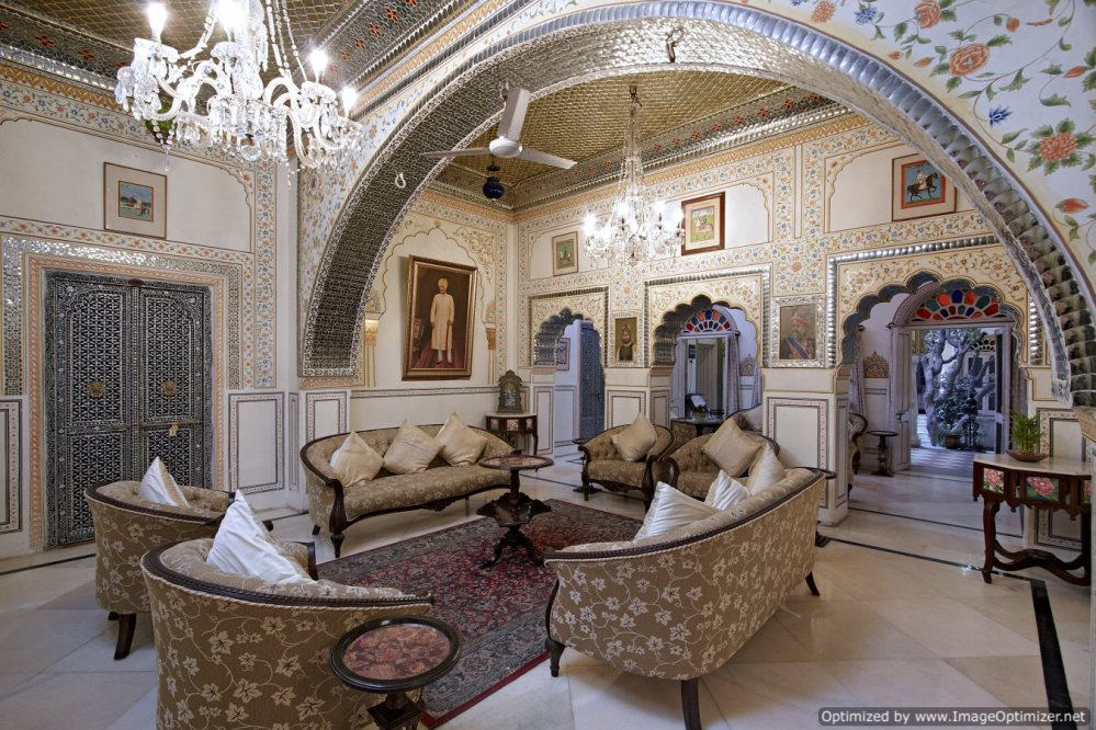 Alsisar haveli_Sheesh Mahal (Lounge)