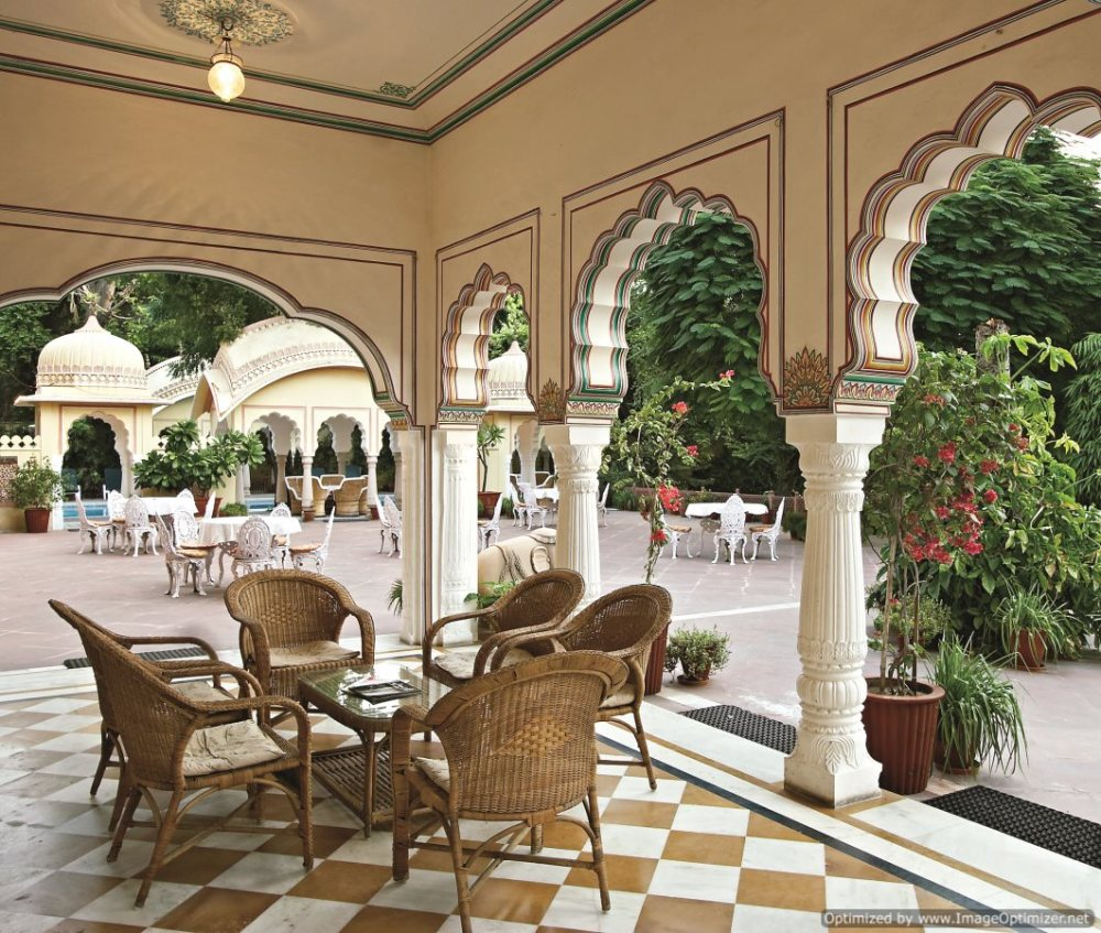 Alsisar haveli_Sitting Area
