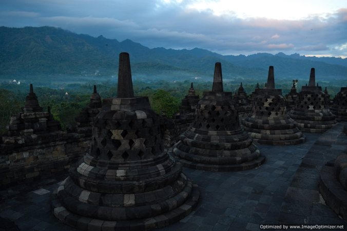 Bells of Borobodur temple_Yogyakarta