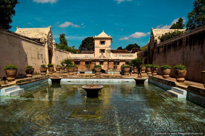 Water castle in Yogyakarta