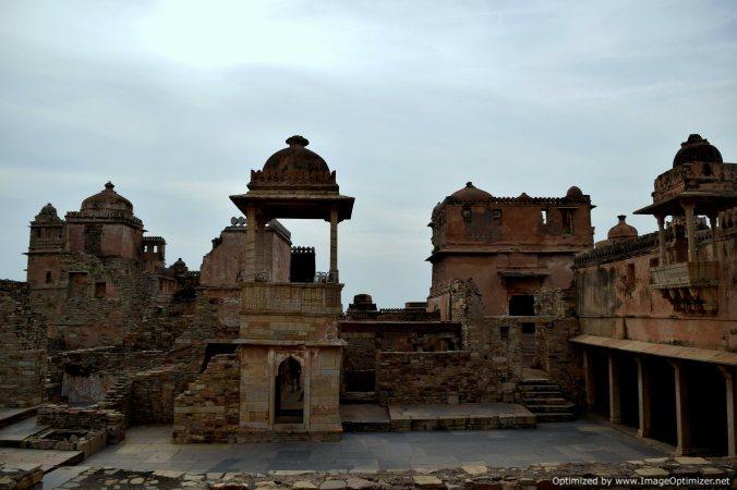Ruins @Chittorgarh Fort