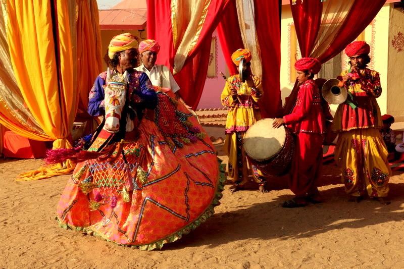 Scene from Pushkar mela