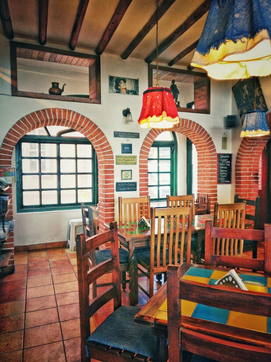 Inside Clock Tower cafe