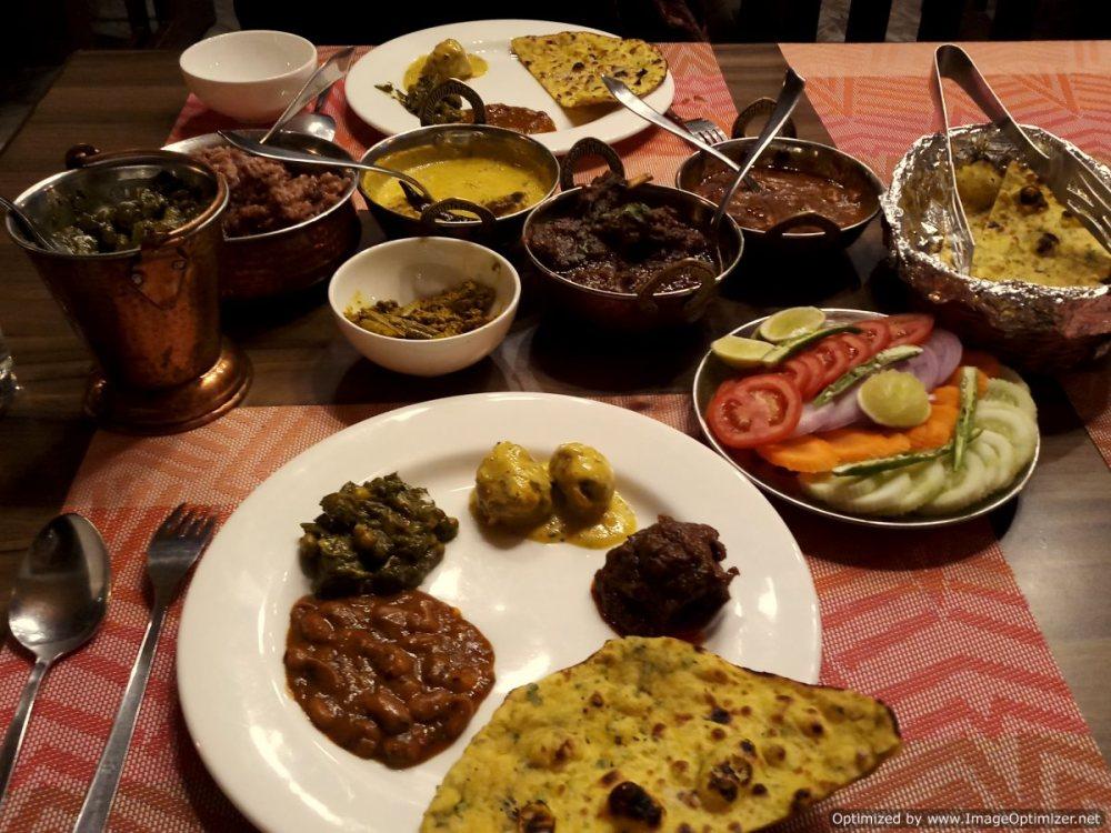 Himachali food_Larisa Resort