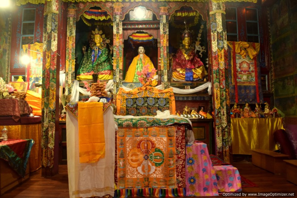Monastary at kalpa village