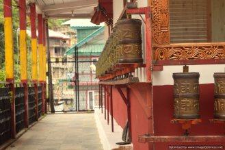 Prayer bells at Kalpa monastary