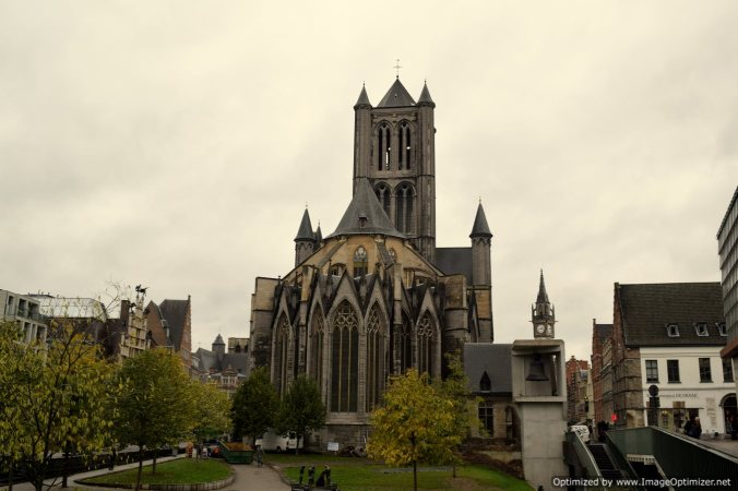 St Nicholas church at Ghent
