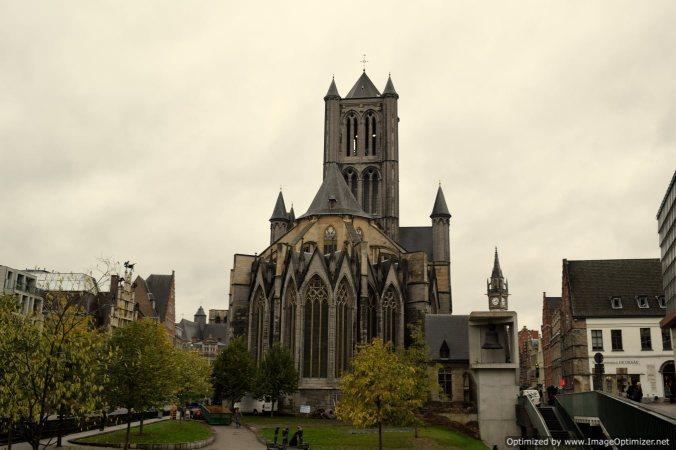 St Nicholas church at Ghent