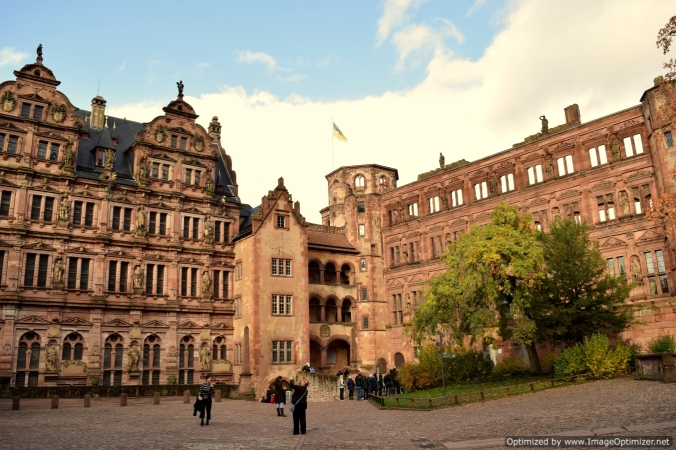 The Heidelberg castle