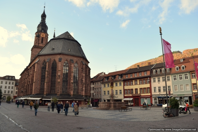 Heidelberg offers countless clicking moments